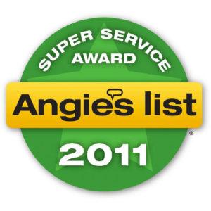 Angies List Service Award - 2011