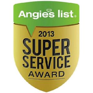Angies List Service Award - 2013