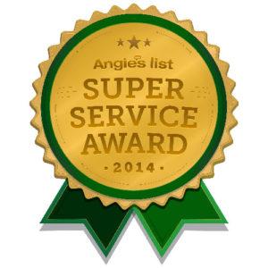 Angies List Service Award - 2014