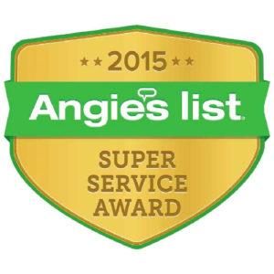 Angies List Service Award - 2015