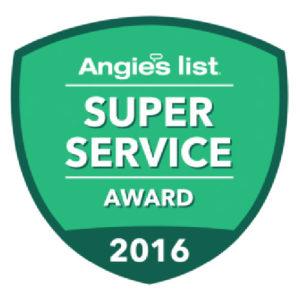 Angies List Service Award - 2016