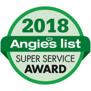 Angies List Service Award - 2018